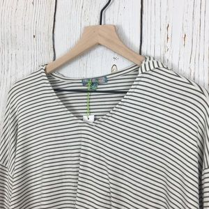 Good Luck Gem Tops - Good Luck Gem Long Sleeve Striped Hoody